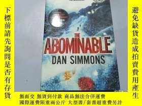 二手書博民逛書店THE罕見ABOMINABLE DAN SIMMONSY2157