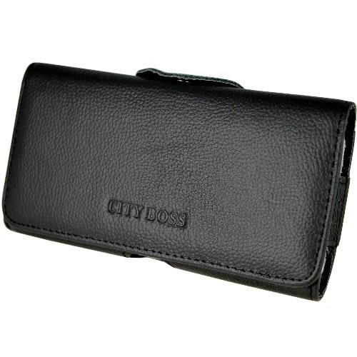 真皮系列 Samsung Galaxy ALPHA (G850) 腰夾式/穿帶式 橫式手機皮套