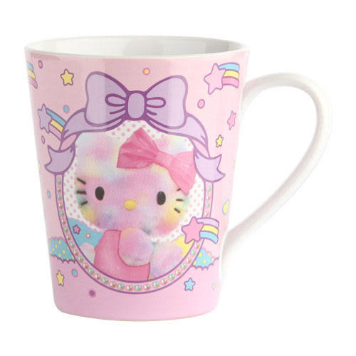 【震撼精品百貨】Hello Kitty 凱蒂貓~《Sanrio》HELLO KITTY陶磁馬克杯(立體寫真)