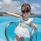 童裝新款兒童連身泳衣