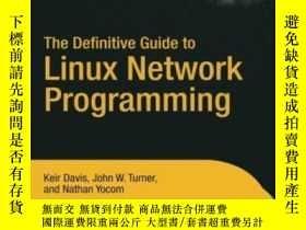 二手書博民逛書店The罕見Definitive Guide To Linux Network Programming (exper