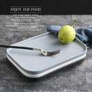 [寬]陶瓷長方平底盤 北歐風 25cm 平底盤 西餐盤 啞光餐盤 陶瓷盤 可微波【RS917】