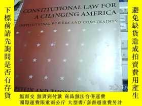 二手書博民逛書店CONSTITUTIONAL罕見LAW FOR A CHANGI