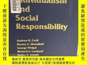 二手書博民逛書店Individualism罕見and Social ResponsibilityY191550 Andrew