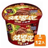 味丹 雙響泡 哈燒鮮辣牛肉湯麵 109g (12碗入)/箱