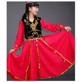 兒童新疆舞演出服少數民族表演服幼兒園舞臺服古裝演出女童舞蹈服 baby嚴選