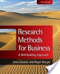 二手書博民逛書店《Research Methods for Business: