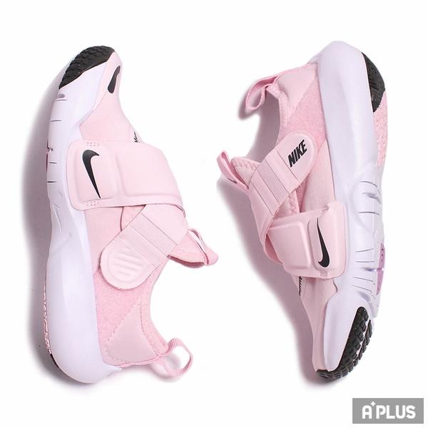 NIKE 童鞋 FLEX ADVANCE (PS) 運動 童鞋 輕量 透氣 舒適 魔鬼氈 中童 穿搭 粉 白-CZ0186600