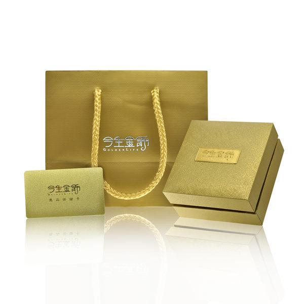 今生金飾     戀戀花漾墜  時尚黃金墜飾