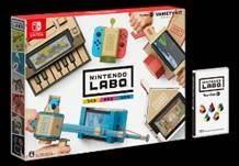 Nintendo Labo 任天堂實驗室 TOY-CON 01  內含:鋼琴、釣竿、機車、房子、遙控車