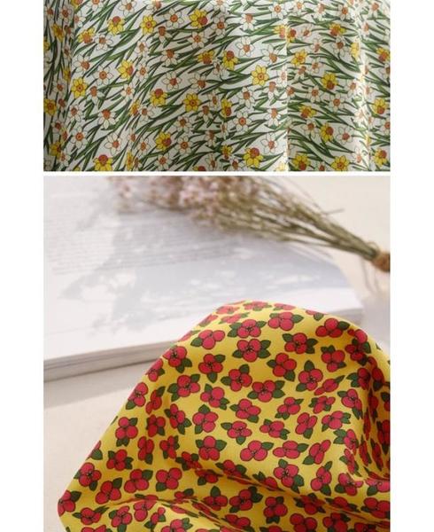 平紋棉 DIY手工布料 進口布料 田園小花系列