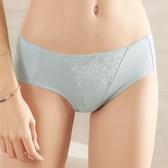 EASY SHOP-柔情綺戀 中腰三角褲(藍戀灰)