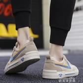 休閒鞋男夏季透氣男鞋韓版潮流休閒百搭帆布青少運動板鞋學生老北京潮鞋 雙十二免運
