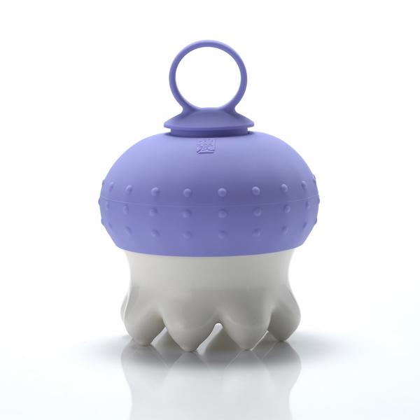 《乾唐軒活瓷》熱波按摩器( 尖足/  白 / 紫指環 )