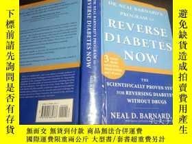 二手書博民逛書店日英法德意等外文原版罕見DR.NEAL BARNARD S PROGRAM TO RENERSE DIABETES