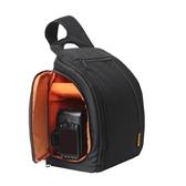 新款單眼相機包斜跨攝影包單肩多功能防水包數碼防盜簡約  雙十二全館免運