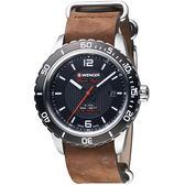 瑞士WENGER Roadster速度系列黑夜騎士腕錶  01.0851.121