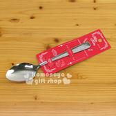 〔小禮堂〕Hello Kitty 日製不鏽鋼湯匙《銀.大臉》實用又可愛4972940-61892