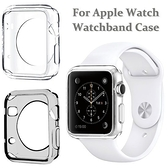 下殺【智慧手錶透明套】Apple Watch Series 1、2代 38mm/42mm 透明保護殼/iWatch軟殼/清水套/TPU 透明保護套