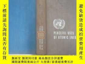 二手書博民逛書店英文版罕見PEACEFUL USES OF ATOMIC ENERCY 日內瓦和平利用原子能國際會議論文集 第9卷