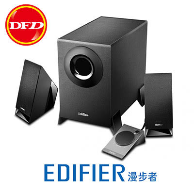 EDIFIER 漫步者 M1360 2.1系統音響 4英寸防磁型揚聲器 多功能線控器 公司貨