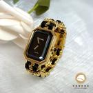 【雪曼國際精品】Chanel H0001香奈兒首映系列premiere手錶M尺寸~二手商品(9.成新)