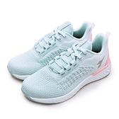 LIKA夢 DIADORA 迪亞多那 輕量針織寬楦慢跑鞋 慢遊泡泡系列 藍蜜桃 33610 女