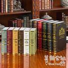 歐式仿真辦公室客廳房間軟裝飾品擺件復古道具書LY3379 『美鞋公社』
