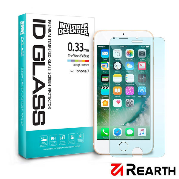 Rearth Apple iPhone 7/8 (0.33mm) 強化玻璃螢幕保護貼