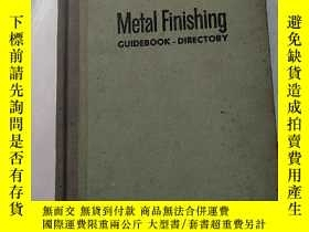 二手書博民逛書店metal罕見finishing guidebook-direc