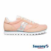 SAUCONY JAZZ LOWPRO 經典復古女鞋-裸粉x太空銀