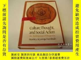 二手書博民逛書店Culture,罕見Thought, And Social ActionY362136 Stanley J.