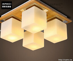 INPHIC- 日式貝殼方塊雲朵吸頂燈現代簡約兒童房客廳北歐創意臥室燈-F款_S197C