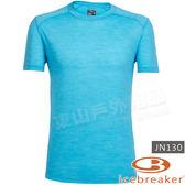 Icebreaker 103608-402淡海藍 男羊毛圓領排汗衣Sphere Cool-Lite美麗諾清涼紗