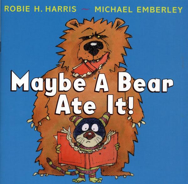 【麥克書店】MAYBE A BEAR AT IT /英文繪本《主題:幽默》