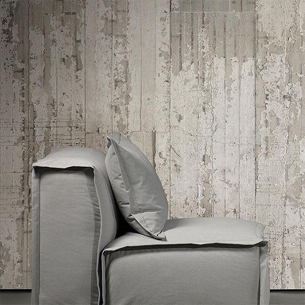 【進口牆紙】CONCRETE WALLPAPER BY PIET BOON【訂貨單位48.7cm×9m/卷】復古混凝土紋仿真 loft工業風 CON-06