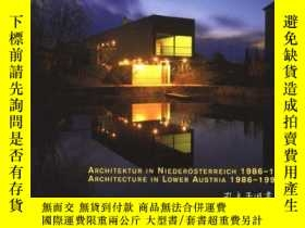 二手書博民逛書店Architecture罕見in Lower Austria 1