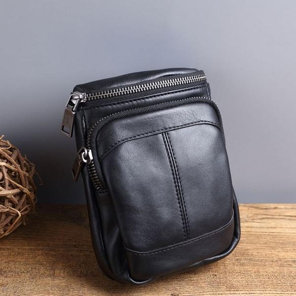 【Solomon 原創設計皮件】穗收 腰掛包 手機包