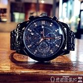 手錶男 2021新款時尚潮流男士手錶全自動機械表防水夜光鏤空陀飛輪精鋼表 LX爾碩 交換禮物