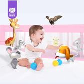 會說話智能嬰兒床護欄大床邊擋板通用1.5米-2米圍欄【轉角1號】