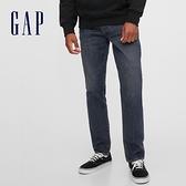 Gap男裝 復古水洗五袋直筒牛仔褲 614988-藍色