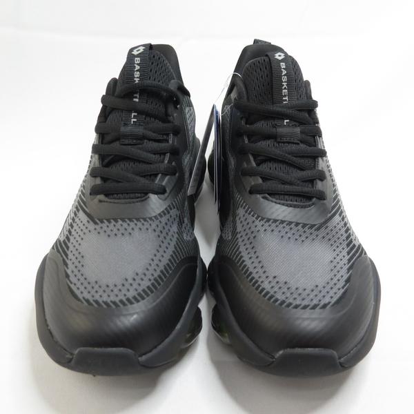 LOTTO 天行者 氣墊籃球鞋 男款 休閒鞋 氣墊鞋 蜂巢鞋墊 LT1AMB3390 黑綠【iSport愛運動】