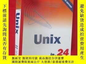 二手書博民逛書店Sams罕見Teach Yourself Unix in 24