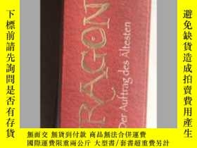 二手書博民逛書店罕見ERAGON(德文原版,一厚冊)Y171402 CHRIST