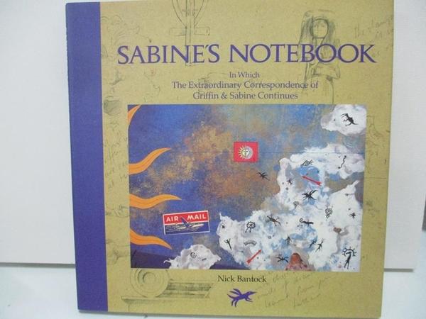 【書寶二手書T4/原文書_DQK】Sabine s Notebook-In Which the Extraordinary…_Bantock, Nick