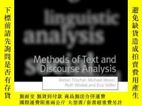 二手書博民逛書店Methods罕見Of Text And Discourse AnalysisY364682 Jenner,