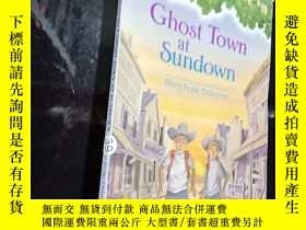 二手書博民逛書店Ghost罕見Town at Sundown.  Y12498