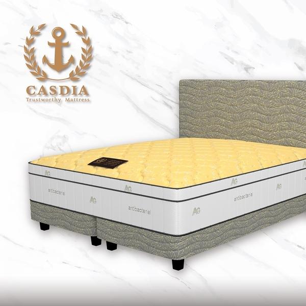 CASDIA皇室經典韓規獨立筒床 雙人加大6尺