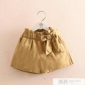 寶寶休閒短褲 2021夏裝新款女童童裝兒童蝴蝶結褲子kz-c299 夏季新品
