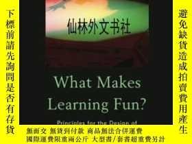 二手書博民逛書店【罕見】2013年出版 What Makes Learning